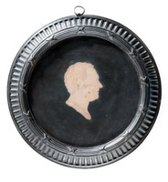 Round basalt medallion with encaustic profile portrait of Dr Daniel Solander (1736-1782), with self-frame. Solander was a Swedish naturalist who studied at the University of Uppsala, taking an M.D Degree later becoming an employee at the British Museum