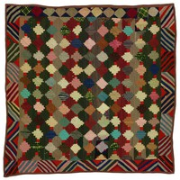Log Cabin/Courthouse Steps quilt