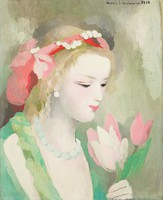 Delores, Marie Laurencin, oil on canvas