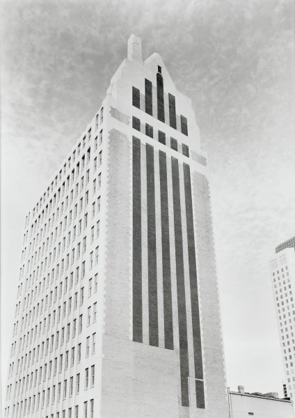 Watts Building, Philip Trager, silver print