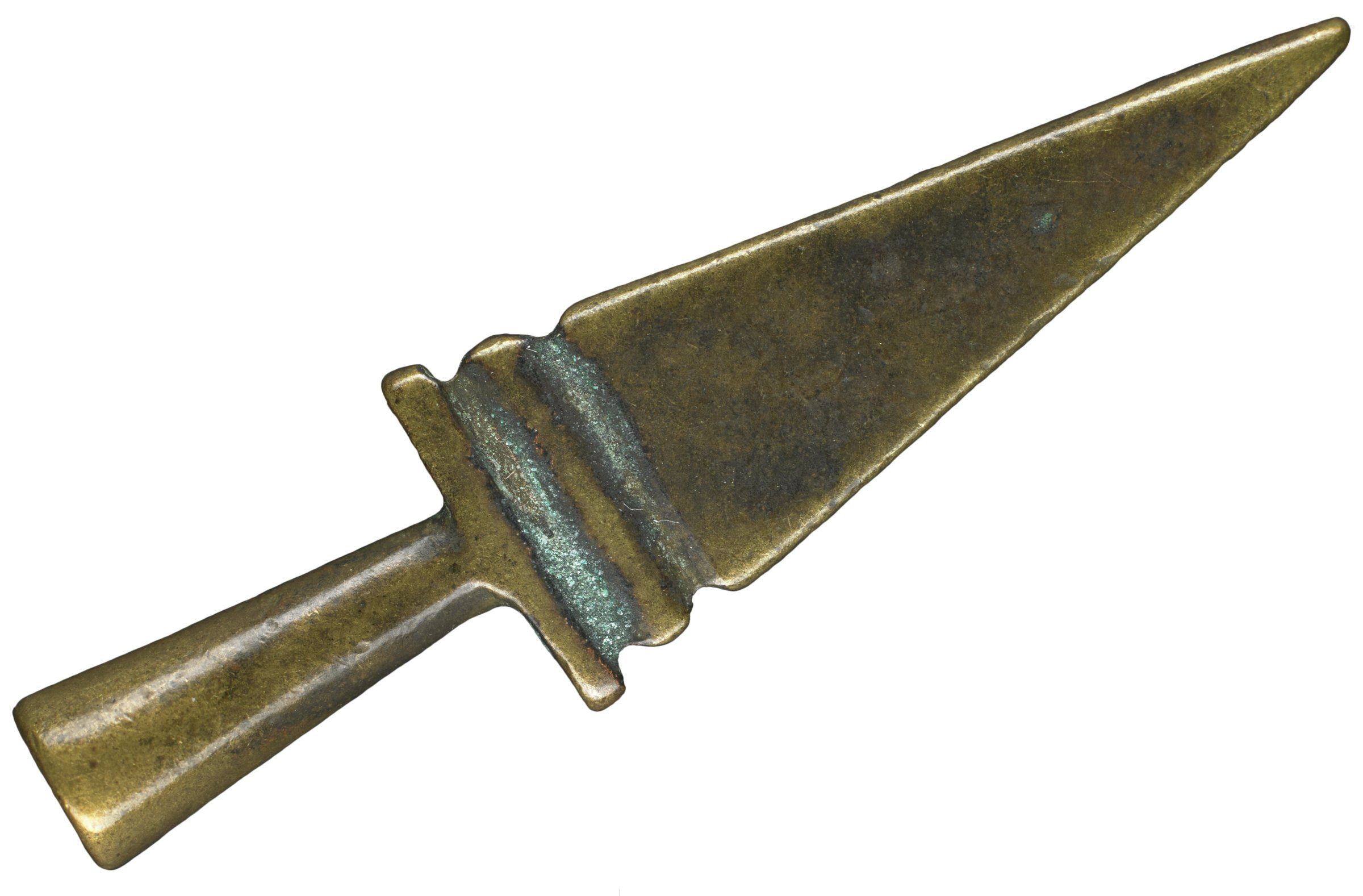Gold Weight in the Form of a Knife, Asante people or, Baule people, Akan group, Ghana or, Côte d'Ivoire, African, brass