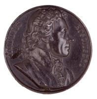 Obverse: Bust in profile right.