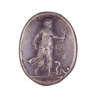 Demeter Searching for Persephone, Royal Prussian Iron Foundry, Gleiwitz, cast iron
