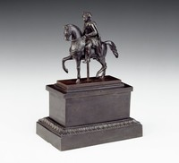 This model is based on Rauch's monument for Friedrich II in Berlin.