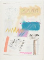 Untitled, Jaune Quick-To-See Smith, pastel and charcoal on Arches wove paper