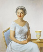 Portrait of Lucille Beeson, William W. S. Wilson, oil on canvas