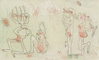 Les Sentiers de La Création (The Paths of Creation), Roberto Matta, Published by Editions Skira, etching, mixed media