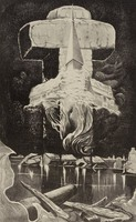 Out of the Darkness, Merritt Mauzey, lithograph