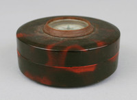 Box with Inset Compass, wood, lacquer