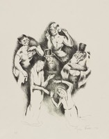 The Twelve, George Biddle, lithograph