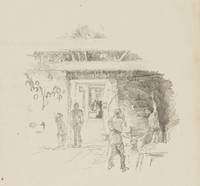 The Tyresmith, James Abbott McNeill Whistler, lithograph